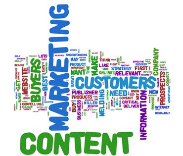 content marketing tag cloud