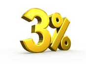 bigstock-Three-percent-symbol-isolated--74225323