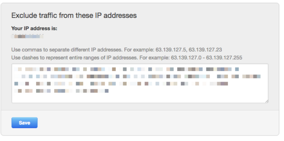 How to exclude IP addresses in HubSpot
